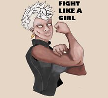 Fight Like a Girl (Words) Unisex T-Shirt
