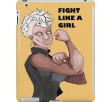Fight Like a Girl (Words) iPad Case/Skin
