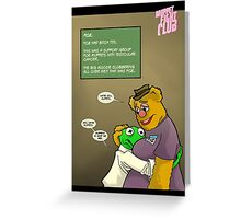 His name was Fozzie Paulsen. Greeting Card