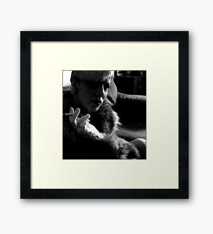 Have We Met? Framed Print
