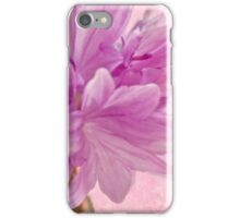 Pink Batchelor's Button Macro iPhone Case/Skin