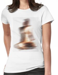 abstract body Womens Fitted T-Shirt