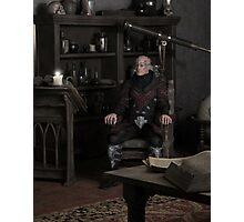 Sorcerer Thinking Photographic Print