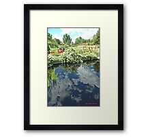 Reflections of a Good Day Framed Print