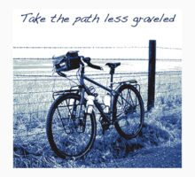 Take the path less graveled by bikepath