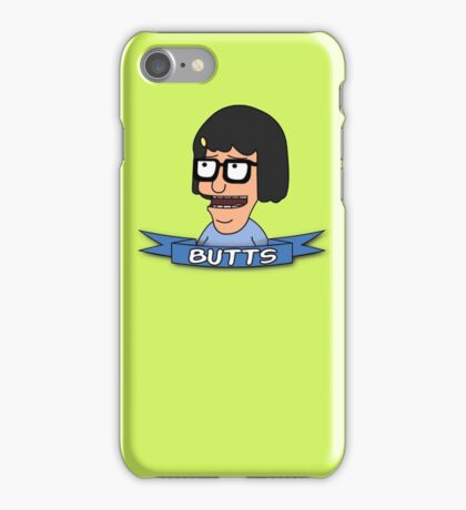 Tina Belcher - BUTTS iPhone Case/Skin