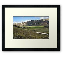 Mountains Iceland Framed Print