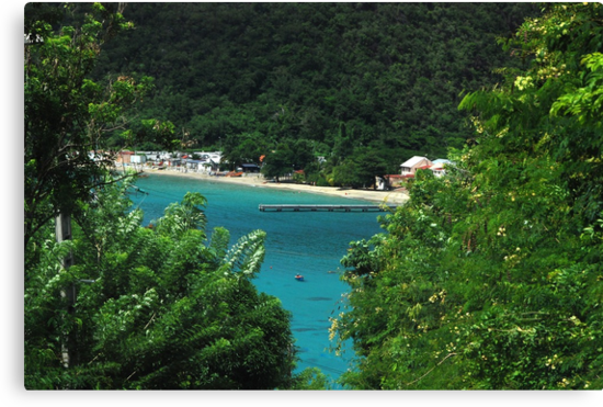 Sneak Peek of Anse d'Arlet - Martinique, F.W.I. by Olivia Son