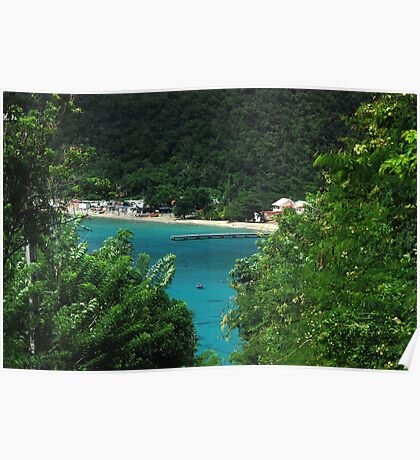 Sneak Peek of Anse d'Arlet - Martinique, F.W.I. Poster