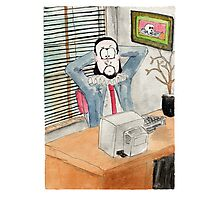 Shakespeare the office based playwright Photographic Print