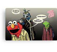 Muppet Sacrifice Canvas Print
