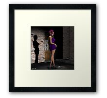 """It's not for sale... Framed Print"
