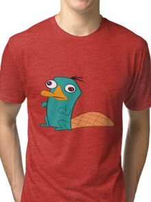 Perry The Platypus Tri-blend T-Shirt