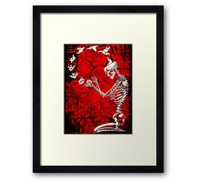 Creative Skeleton Framed Print