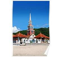 Church of Anse d'Arlet - Martinique, F.W.I. Poster