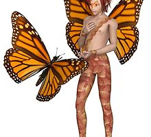 Monarch Butterfly Fairy Boy by algoldesigns