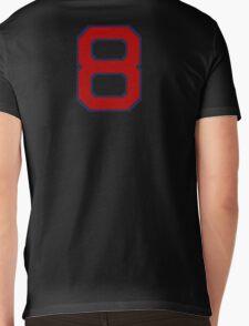 #8 Mens V-Neck T-Shirt