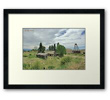 Days of Old Framed Print