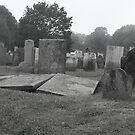 Disturbed Crypt, Farewell Street, Newport, Rhode Island by Pete Janes