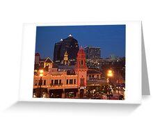 Kansas City Plaza Lights - Christmas  Greeting Card