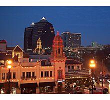 Kansas City Plaza Lights - Christmas  Photographic Print