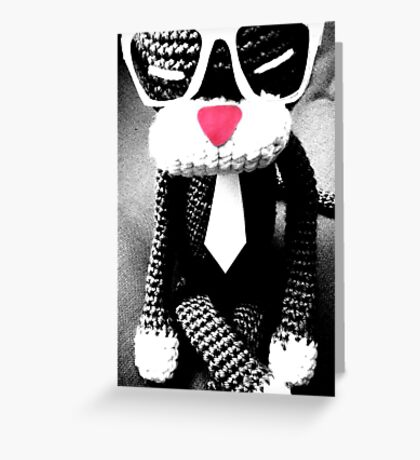 Pimp cat Greeting Card