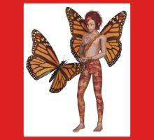 Monarch Butterfly Fairy Boy One Piece - Short Sleeve