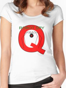 Jonny Quest Robot Spy! 2nd Version Women's Fitted Scoop T-Shirt