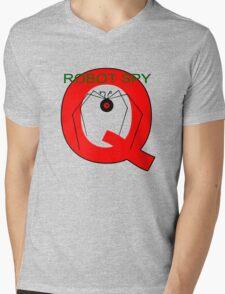 Jonny Quest Robot Spy! 2nd Version Mens V-Neck T-Shirt