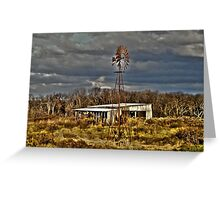 A Little Wind Please.... Greeting Card