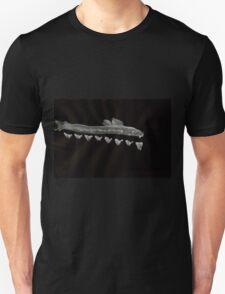 0030 - Brush and Ink - Swim Reception Unisex T-Shirt