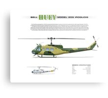 Bell Huey Helicopter (UH-1H transport) Australian Army Metal Print