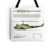 Bell Huey Helicopter (UH-1H transport) Australian Army Tote Bag