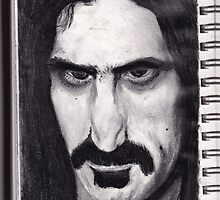 SKETCH PAD page ZAPPA ! by Ray Jackson