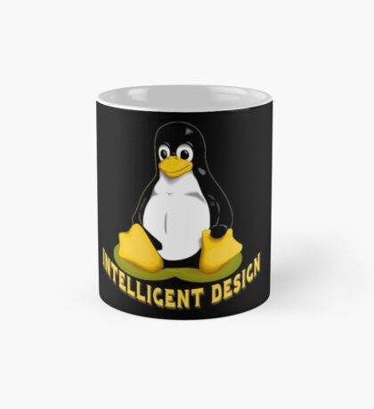 Linux Penguin Intelligent Design Mug