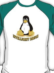 Linux Penguin Intelligent Design T-Shirt