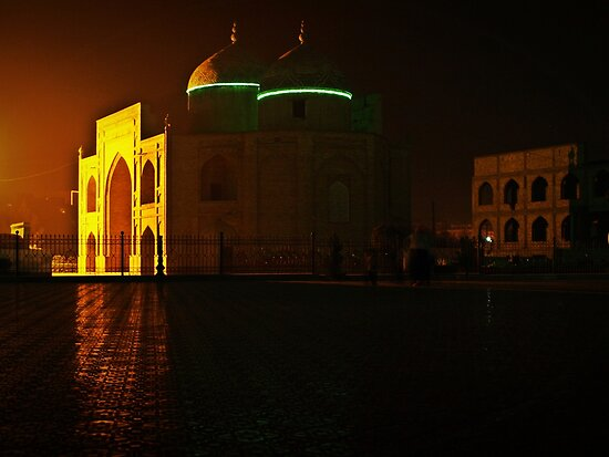 Night in Khujand by heinrich