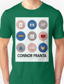 Connor Franta Infographic T-Shirt
