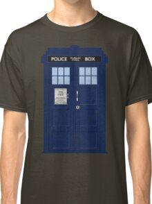 Doctor Who TARDIS - Cloudy 'I am Infinite' Classic T-Shirt