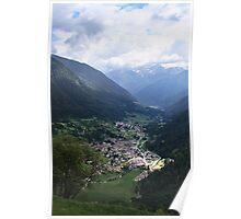 Cogolo Valley Italy Poster