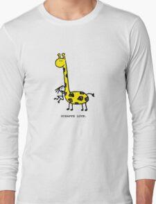 Giraffe Love. Long Sleeve T-Shirt