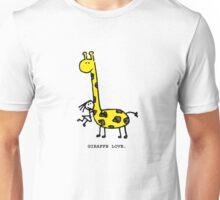 Giraffe Love. Unisex T-Shirt