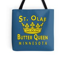 ST OLAF BUTTER QUEEN WITH CROWN Tote Bag