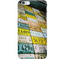 plates in color iPhone Case/Skin