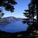 Crater Lake Shadow Frame by baglesscat