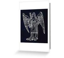 Hic Codex Auienii Continent Epigrama Astronomy Rufius Festivus Avenius 1488 Astronomy Illustrations 0139 Constellations Inverted Greeting Card