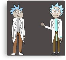 Doc and Rick Canvas Print