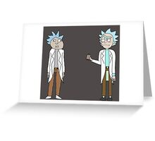 Doc and Rick Greeting Card