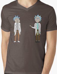Doc and Rick Mens V-Neck T-Shirt