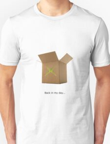 Xbox in the old days Unisex T-Shirt